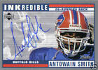 Antowain Smith 1999 Upper Deck Retro Inkredible Buffalo Bills NFL Auto Autograph