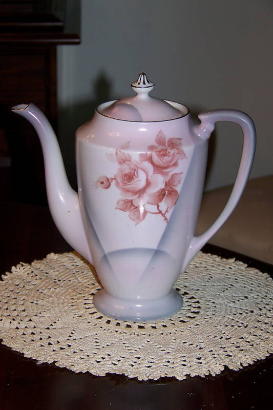 Antique Noritake Japan Rc Backstamp Coffee Pot W Lid Ebay