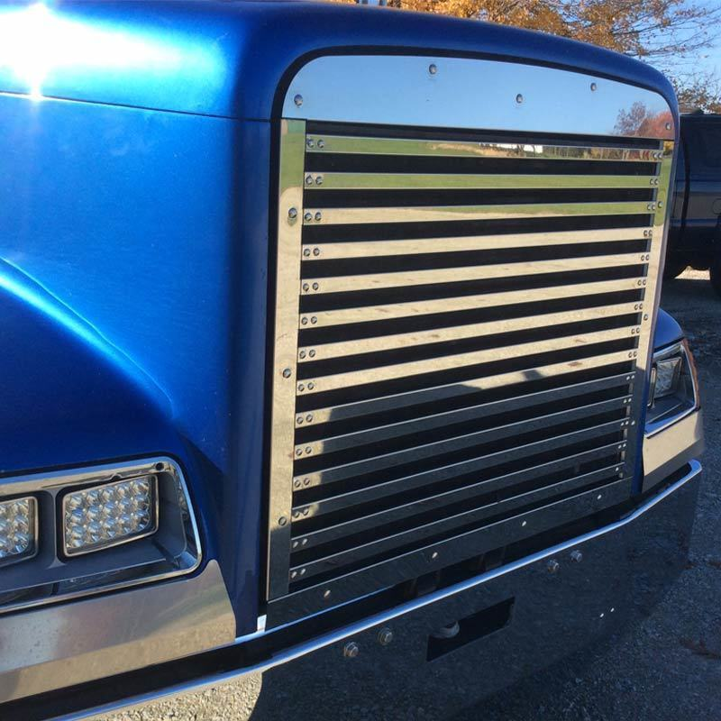 Fld 120 Accessories : Freightliner classic xl fld replacement grill ebay