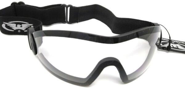 New Clear UV400 Goggles 4 Race Jockey National Hunt Flat Work Riding Free Pouch