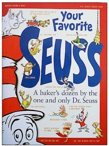 dr seuss your favorite seuss new book by random house ebay. Black Bedroom Furniture Sets. Home Design Ideas