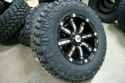285 65 18 rbp wheels nitto trail rim tire package 33 ebay. Black Bedroom Furniture Sets. Home Design Ideas