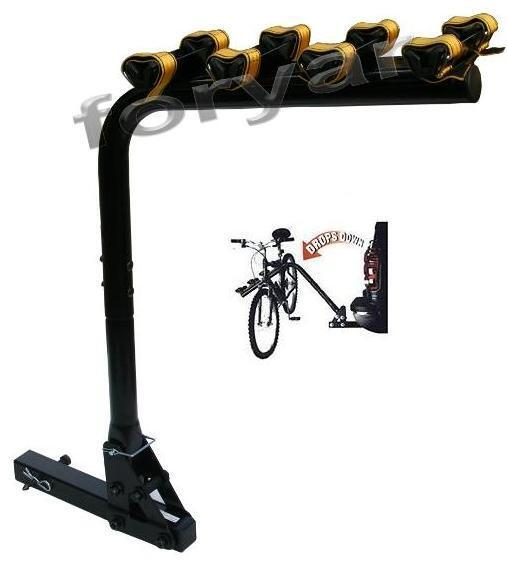 4 Bike Bicycle Rack Carrier 2 Quot Hitch Receiver Swingaway Ebay