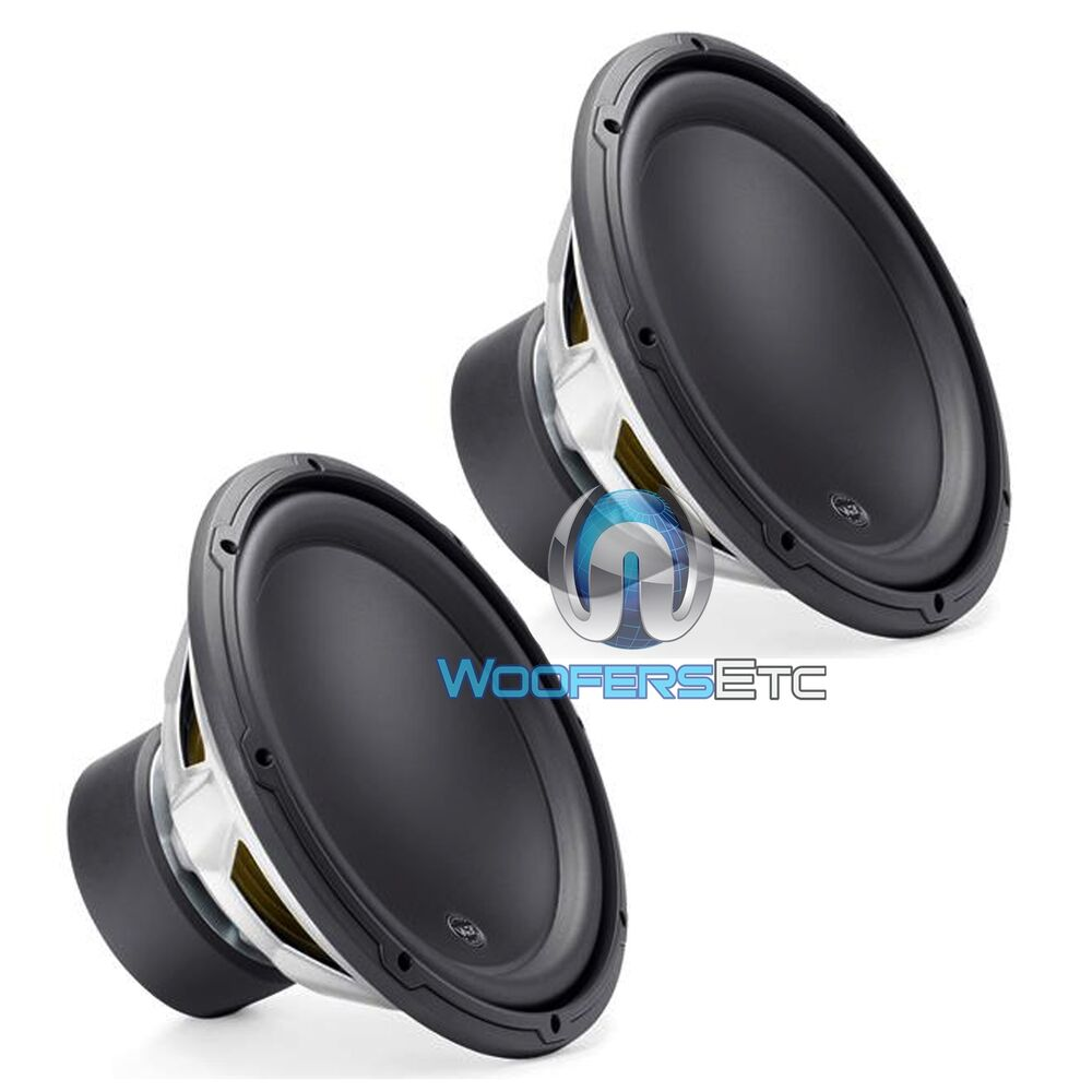 2 jl audio 12w3v3 4 car 12 subs 4 ohm 2000w max. Black Bedroom Furniture Sets. Home Design Ideas