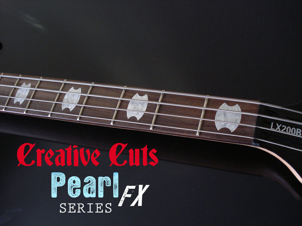 how to make guitar inlay stickers