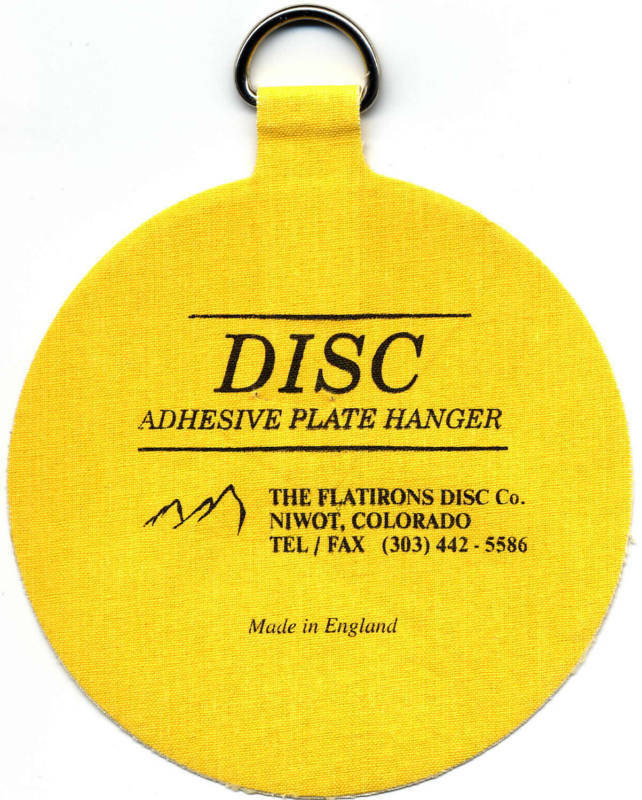 The Original Invisible Disc Adhesive Plate Hangers | eBay