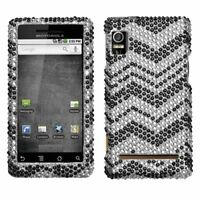 Zig Zag Bling Hard Case Cover for Motorola Droid 2 A955