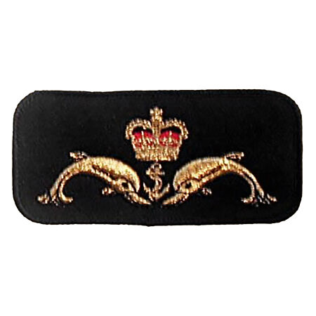 img-NEW OFFICIAL Submariners Breast Badge / Patch - British Royal Navy