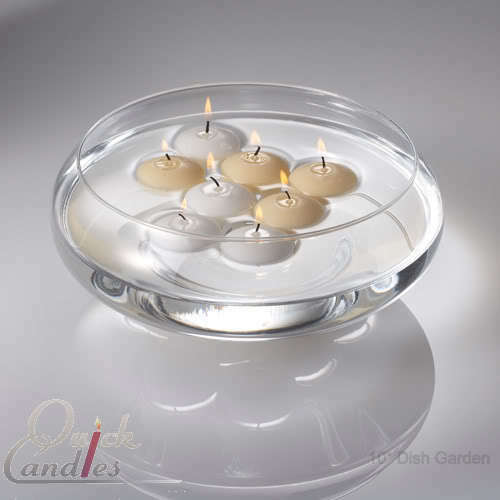 eastland floating candle bowls 10 glass centerpieces ebay