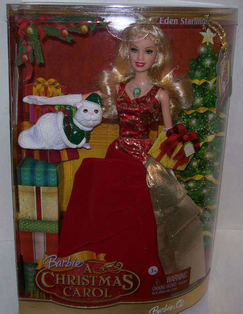 Barbie A Christmas Carol Collector Eden Starling Doll