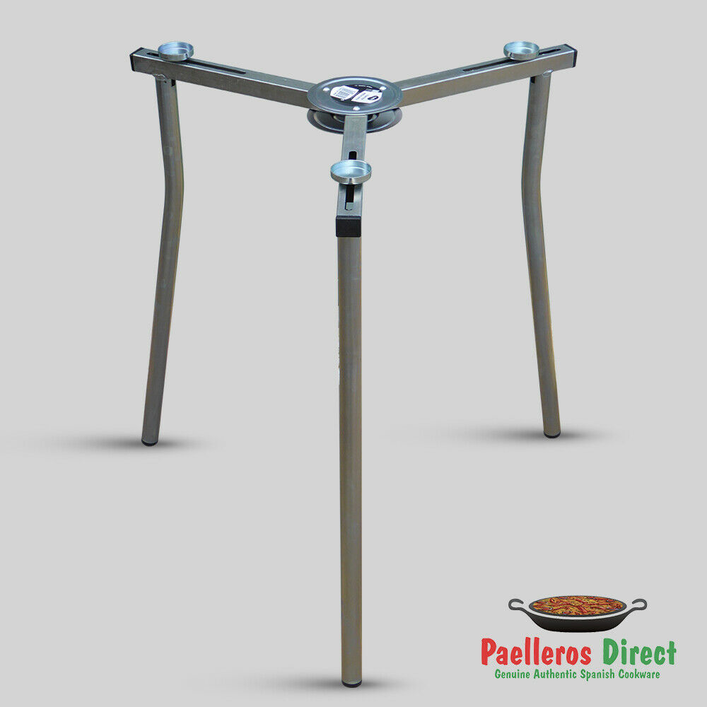 Fully Adjustable Folding Paella Burner Tripod Stand Ebay