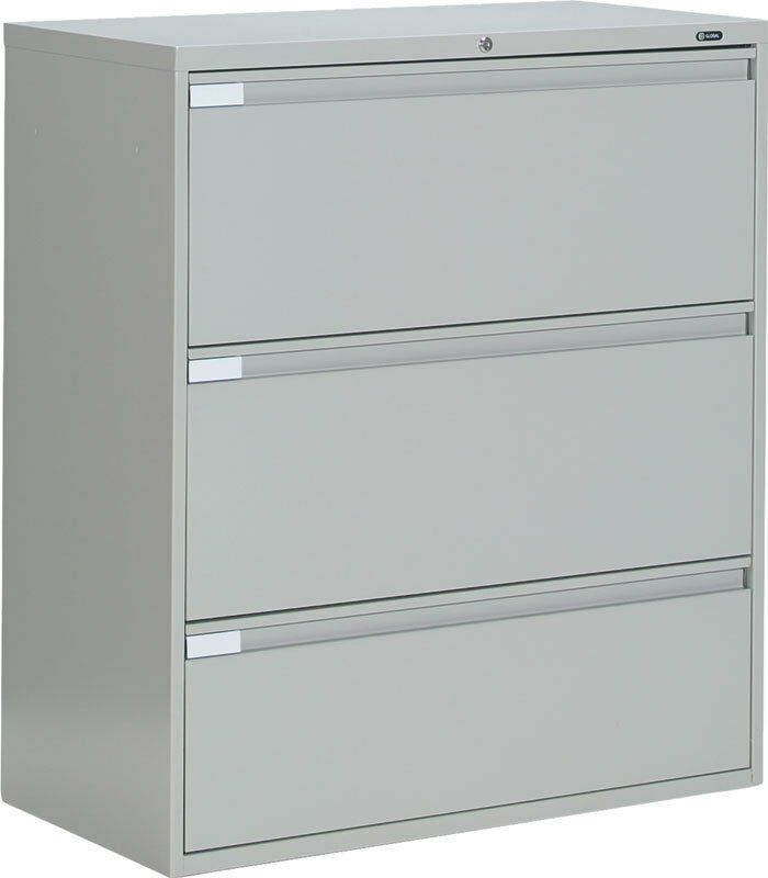 - Metal 3 Drawer Lateral File Cabinet Office Furniture EBay