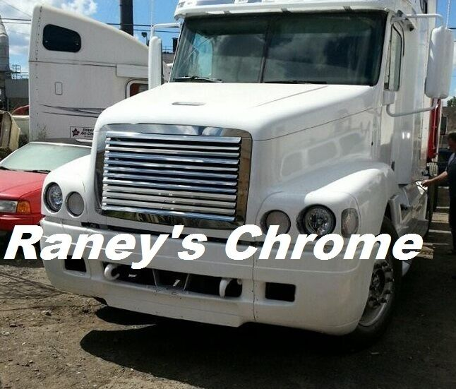 Freightliner fl century hood grill w 12 louvers ss ebay for Century motors of south florida