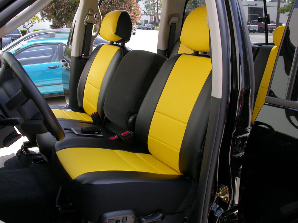 2003 Dodge Ram 1500 Seat Covers >> DODGE RAM 1500 2500 3500 1998-2002 IGGEE S.LEATHER CUSTOM SEAT COVER 13 COLORS | eBay