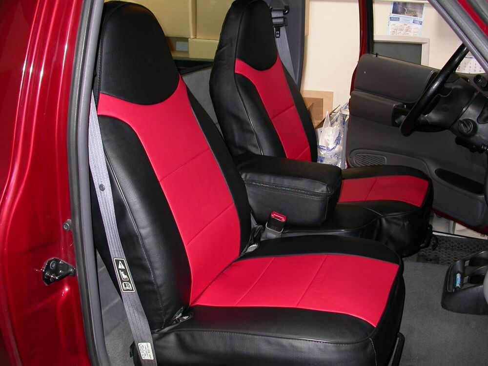 ford ranger 1997 2003 iggee s leather custom fit seat cover 13colors available ebay. Black Bedroom Furniture Sets. Home Design Ideas