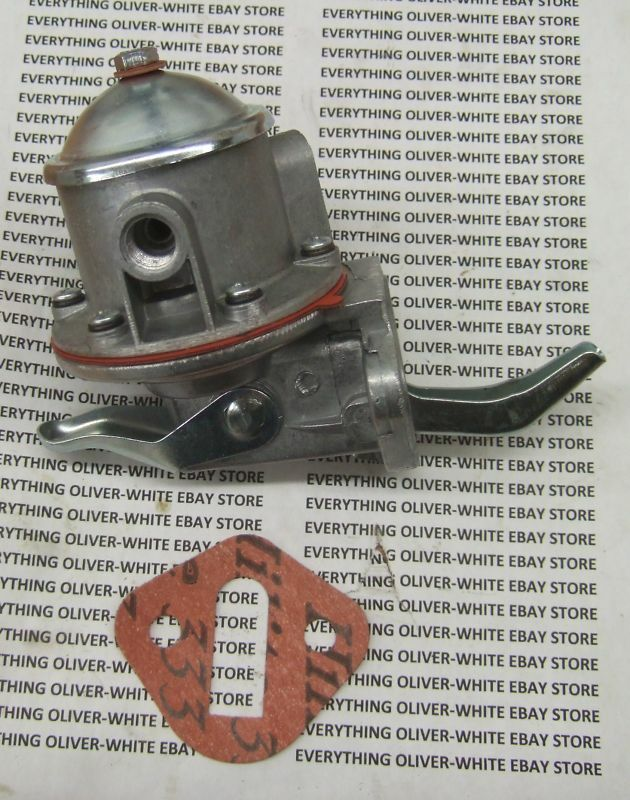 Oliver Tractor Air Pump : Fuel pump white oliver tractor  perkins ebay