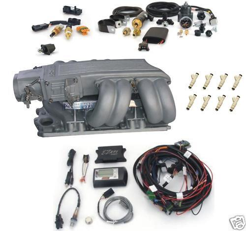 EZ First Fuel Injection SBC Chevy Complete TPI System