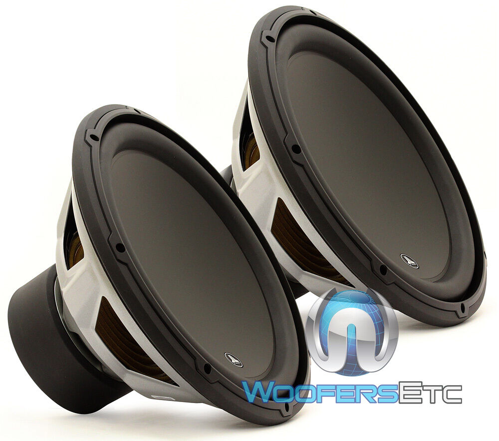 2 pcs 13w3v3 4 jl audio 13 5 subwoofers 4 ohm speakers. Black Bedroom Furniture Sets. Home Design Ideas