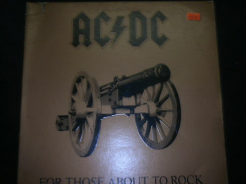 AC/DC - For Those About To Rock We Salute You (1987)-LP