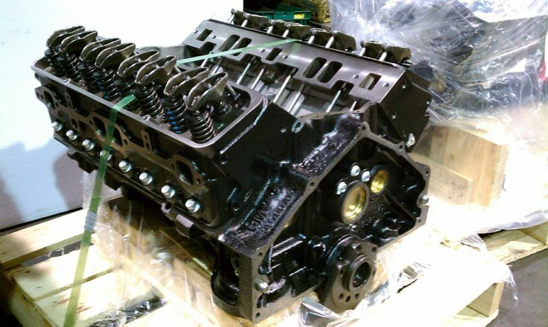 Chevrolet 355    350 Horse Chevy Long Block Crate Engine