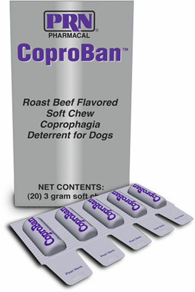 Coproban For Dogs Soft Chew Stop Stool Eating 3 Gr 20ct Ebay