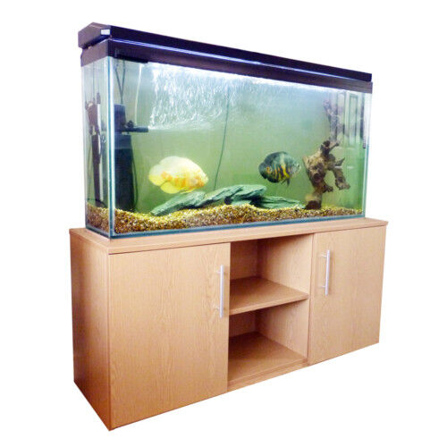 4ft fish tank aquarium stand cabinet ebay for Fish tanks for sale ebay