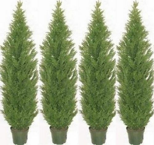 Topiary Artificial 60 Quot Outdoor Cedar Tree Plant Bush
