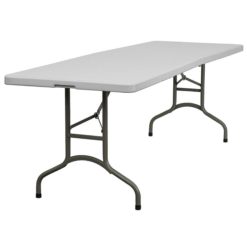 Lot Of 10 8ft Bi-Fold Folding Banquet Catering Tables