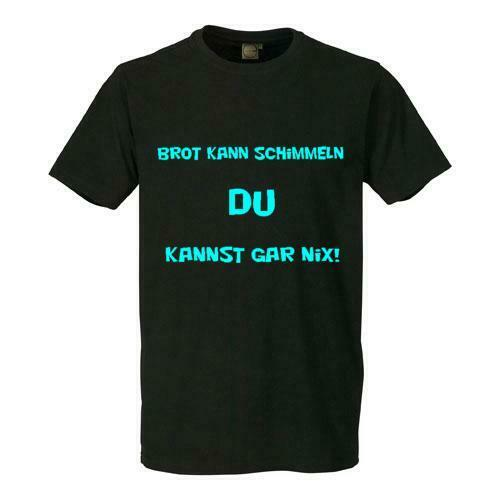 fun t shirt brot kann schimmeln du kannst gar nix s 6xl ebay. Black Bedroom Furniture Sets. Home Design Ideas