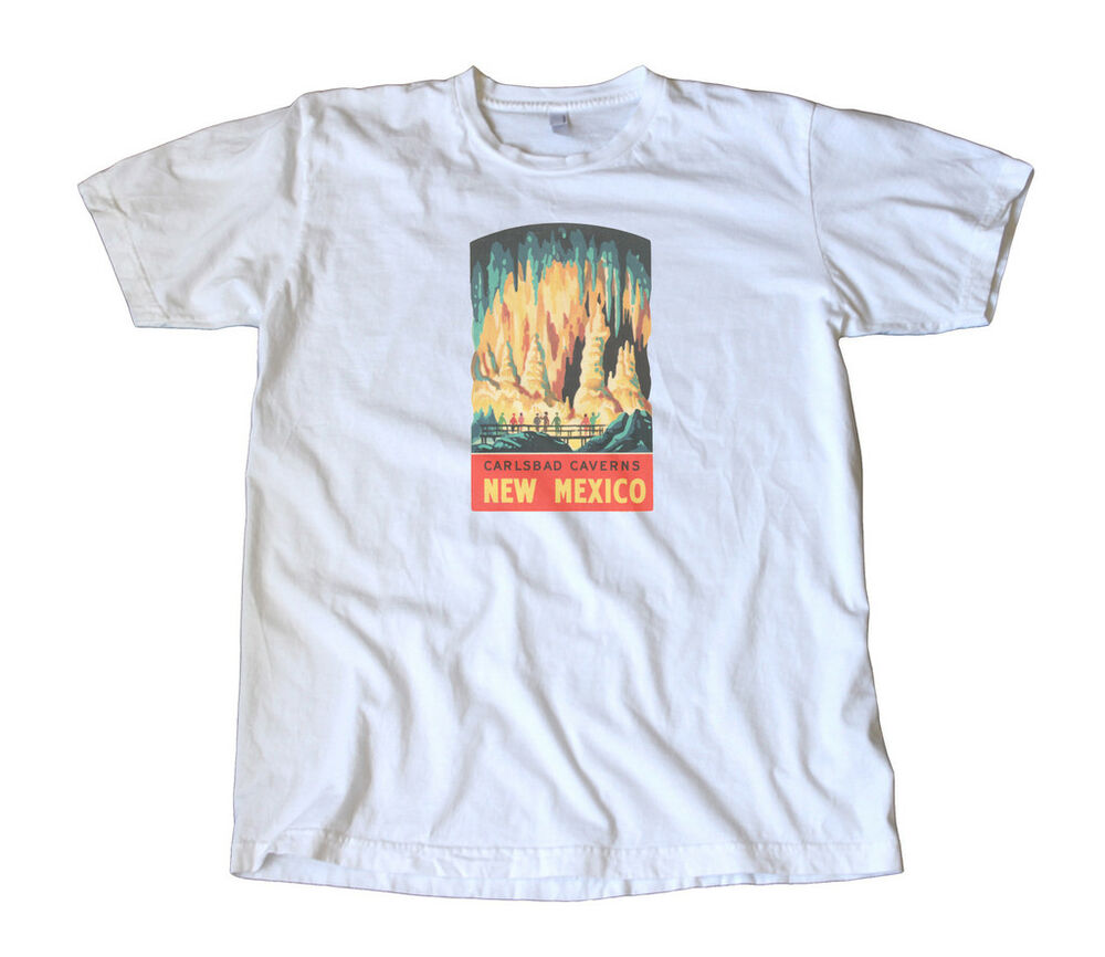 Vintage Carlsbad Caverns Decal T Shirt New Mexico Ebay