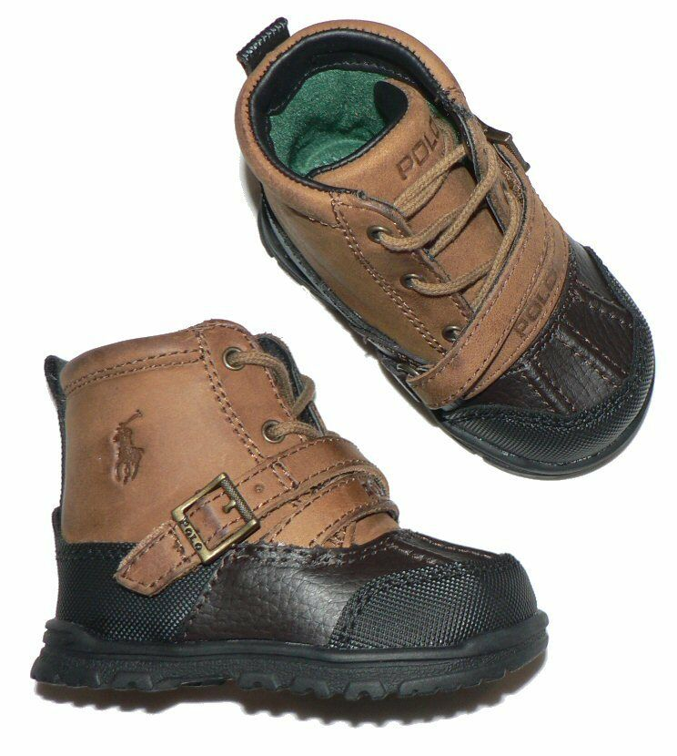 polo ralph lauren infant baby crib shoes tavin boots ebay