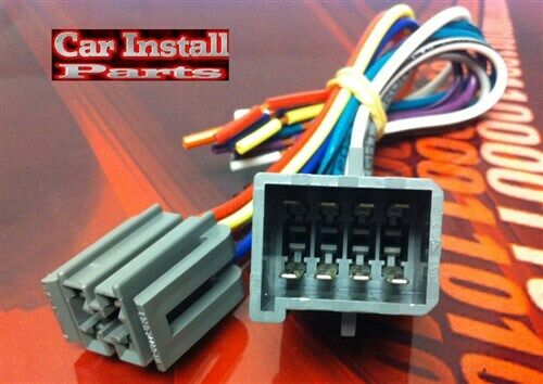 ford oem stock radio wire harness plug 1982 1985 ebay aftermarket car stereo wiring harness