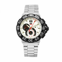 NEW TAG HEUER F1 GRANDE DATE AQUARACER MONACO LINK CHRONOGRAPH WATCH CAH1011