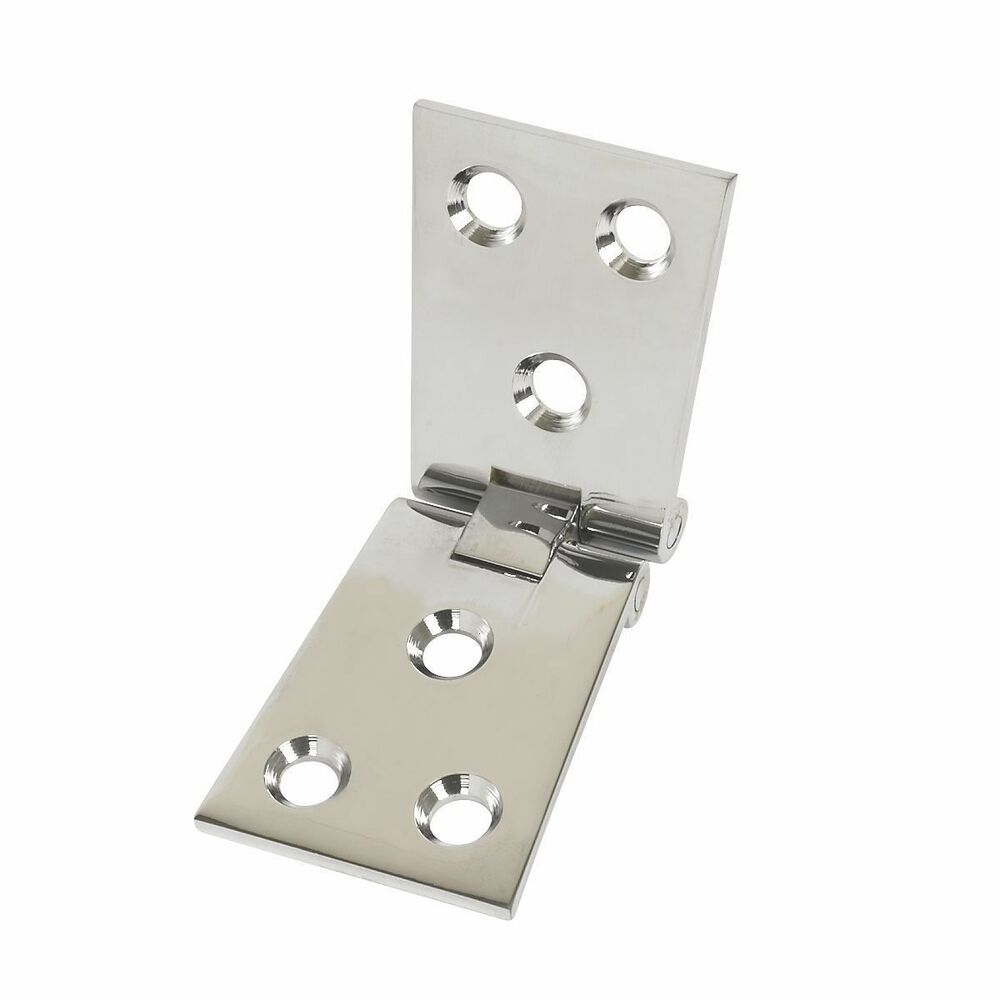 Polished Chrome Counter Flap Hinges 40mm X 102mm Ebay