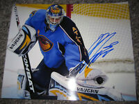 ONDREJ PAVELEC Atlanta Thrashers signed 8x10 photo COA