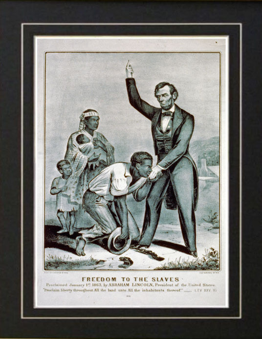 abraham lincoln slavery and the civil Abraham lincoln winding off the tangled skein dr lincoln's new elixir of life — for  editor, the price of freedom: slavery and the civil war, volume i, p.