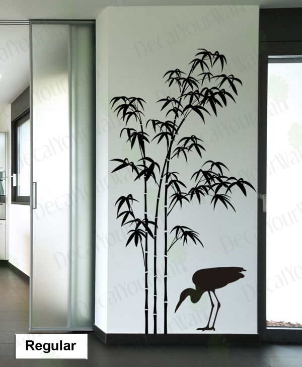 Bamboo Wall Decal Tree Wall Stickers Living Room Bedroom