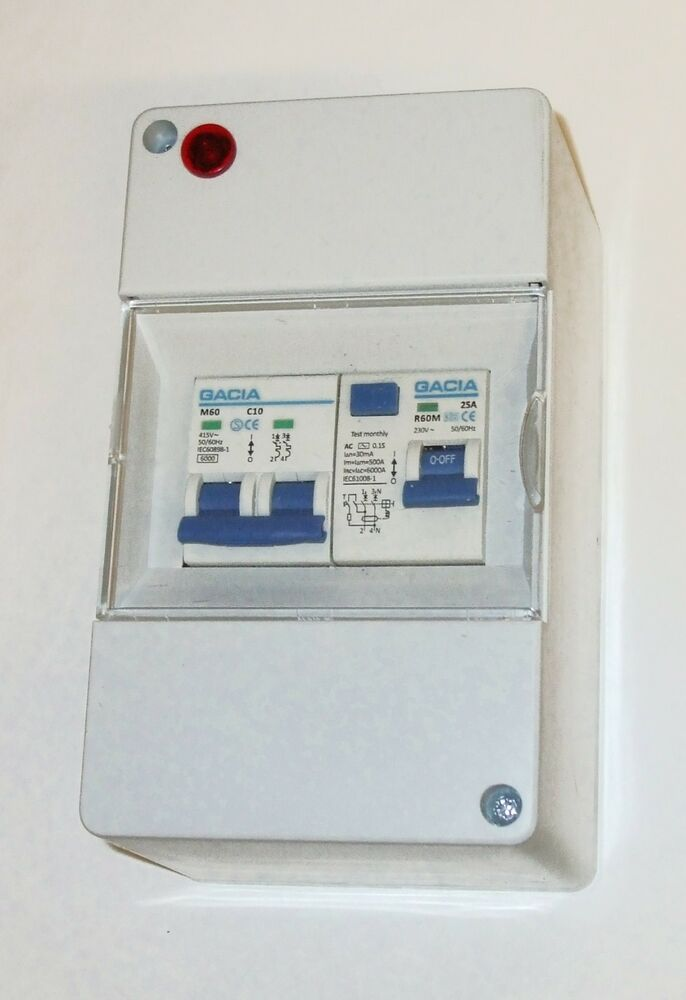 Fuse Box Rcd Keeps Tripping : Caravan v consumer unit rcd with mcb boat