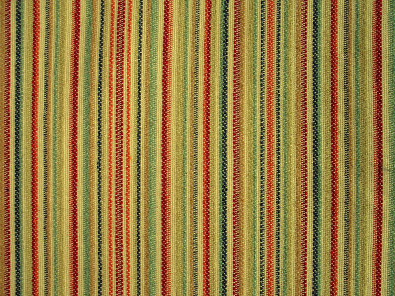 Woven Colorful Rainbow Stripe Upholstery Fabric Ebay