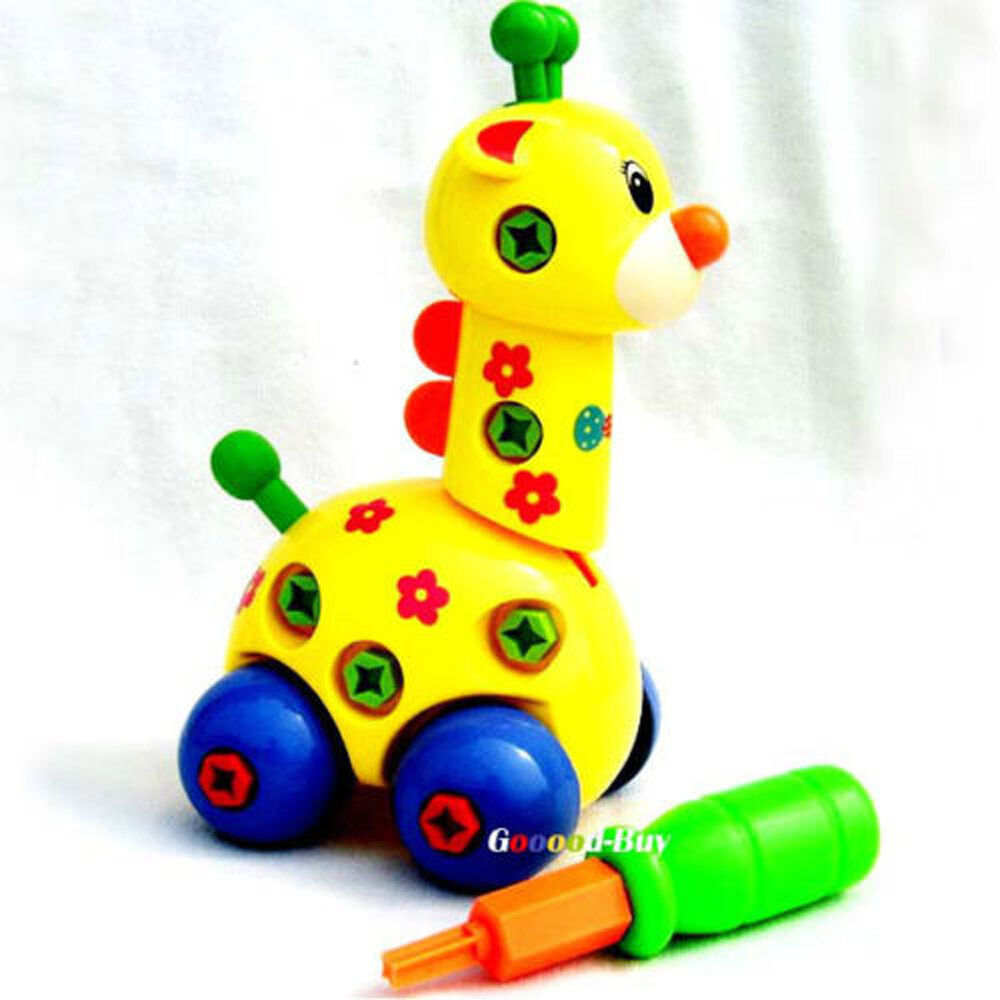 Put Together Toys For Boys : Baby child children funny intellectual giraffe car toy ebay