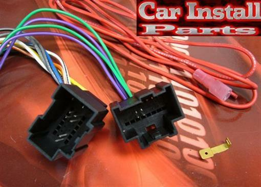 gmc radio wire harness install stereo plug 2007 2009 ebay. Black Bedroom Furniture Sets. Home Design Ideas