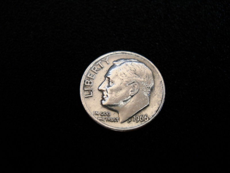 1966 Roosevelt Dime 10 Cent American Usa Coin Coins Ebay