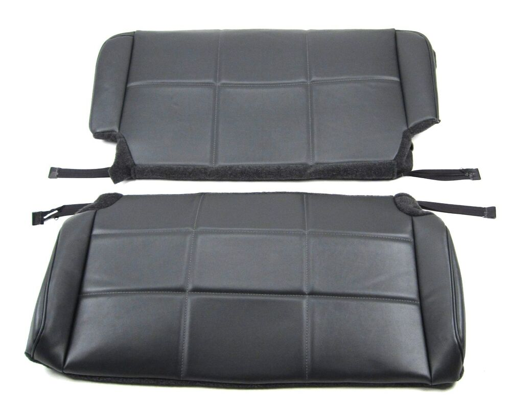 Jeep  tj rear bench seat upholstery kit ebay