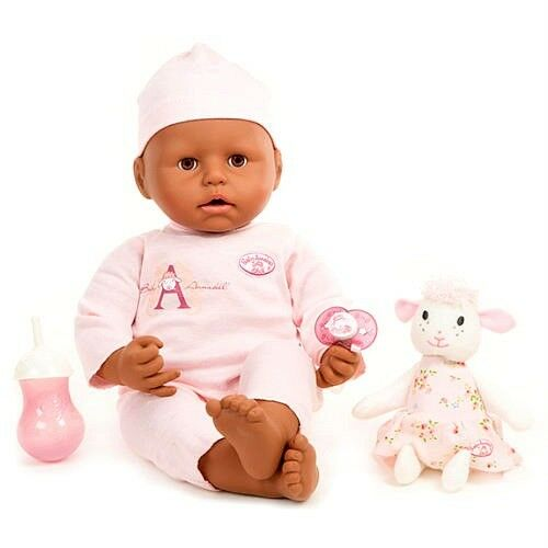 Baby Annabell African American Interactive Girl Doll Cries