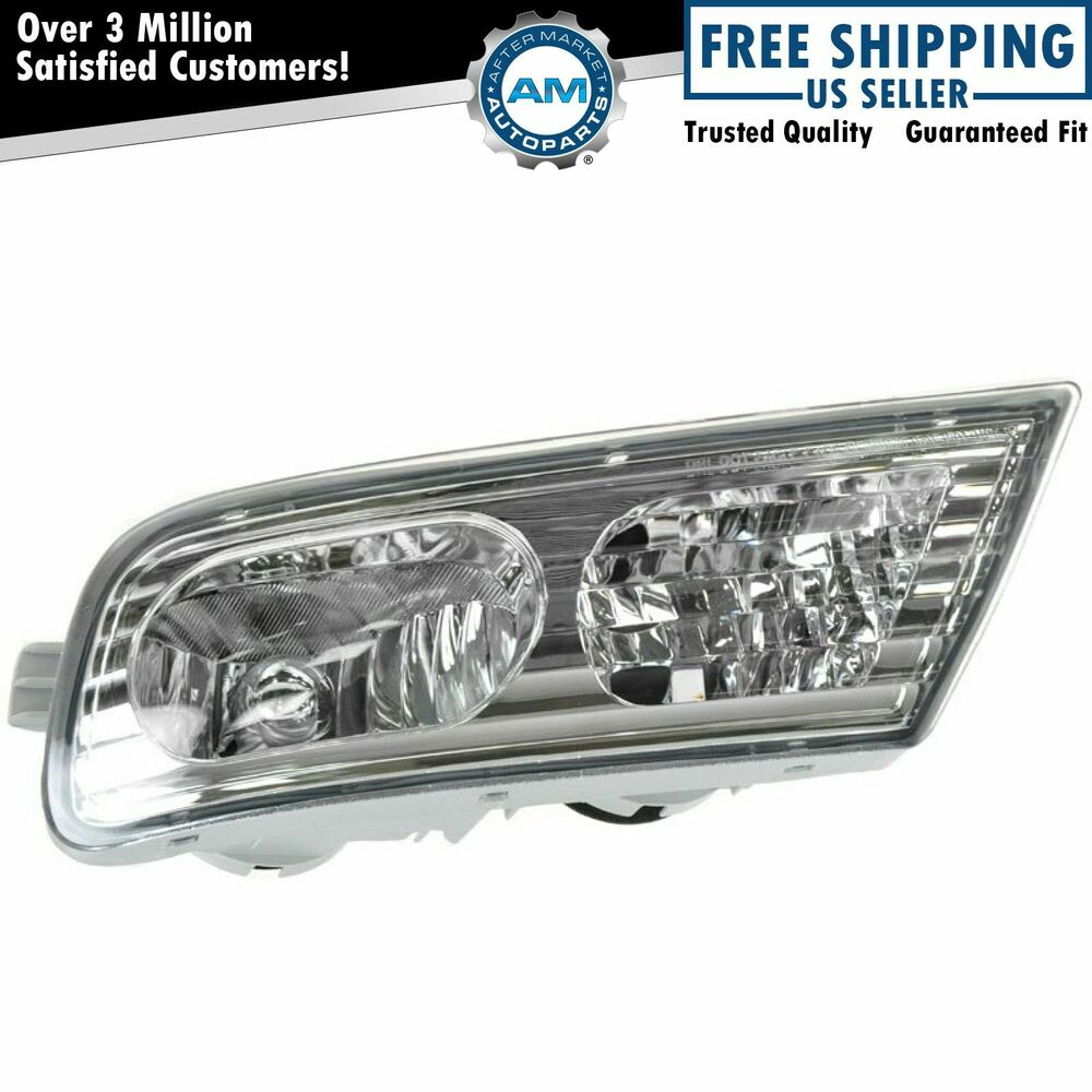 Fog Light Bumper Mounted RH Right For Acura MDX 2007-2009