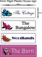 Personalised House name plate / plaque sign decorative house sign good gift idea