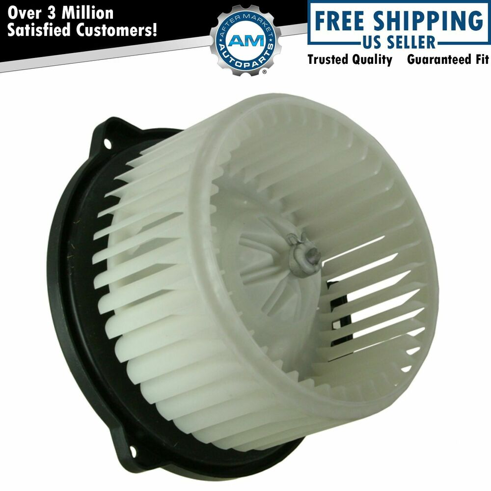 Heater A C Ac Blower Motor W Fan Cage For 04 05 Toyota