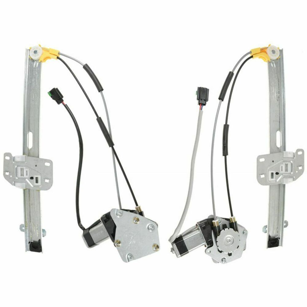 Power window regulators with motor front pair set upgrade Window motor and regulator cost