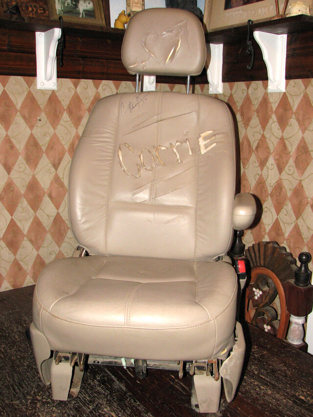 Actual car seat from before he cheats video one of a kind ebay