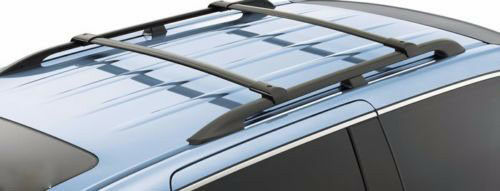 crossbars roof rack roof cargo carrier bars for 2003 2008 honda pilot oe style ebay. Black Bedroom Furniture Sets. Home Design Ideas